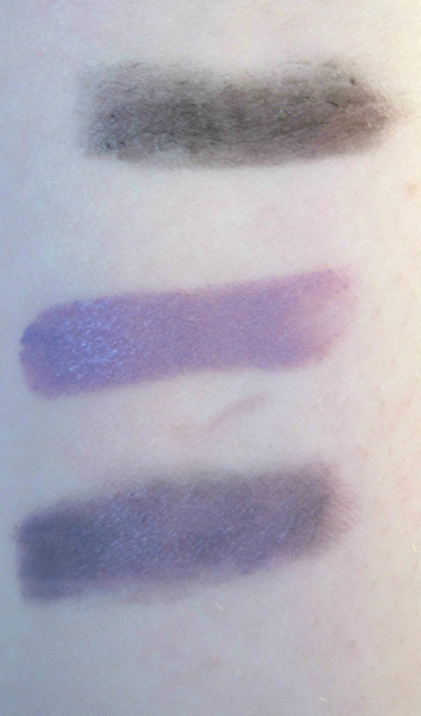 NYX V'amped up swatches