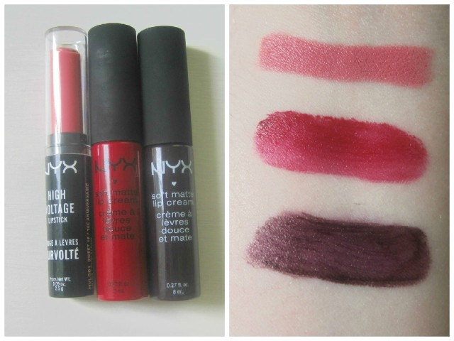 Nyx lip collage