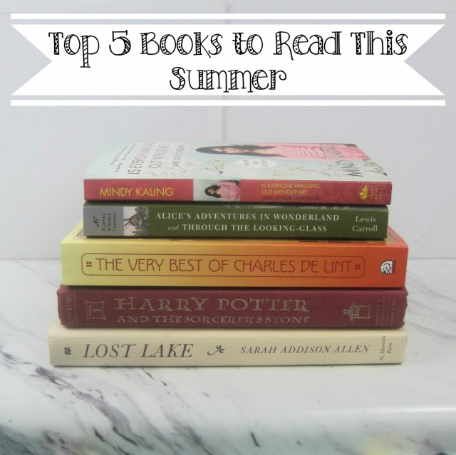 Top Five Summer Books