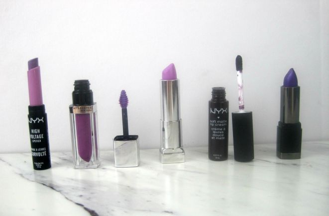 Favorite Purple Lipstick